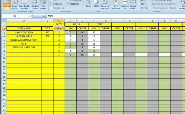 Excel Spreadsheet Dashboard Templates