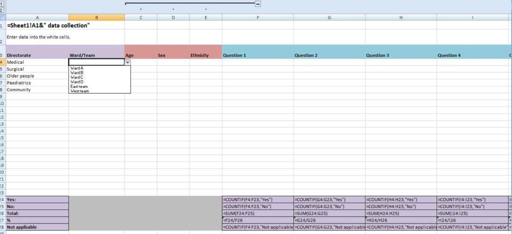 Example Of Excel Budget Sheet