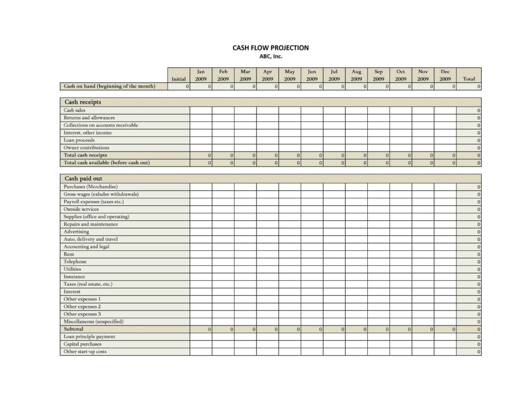 Excel Accounting Templates For Small Businesses