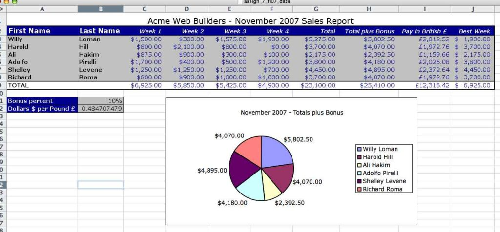 Excel Spreadsheet For Business Income And Expenses