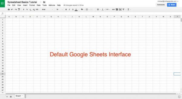 Excel Spreadsheet Graph Templates