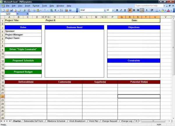 Excel Spreadsheet Templates For Tracking
