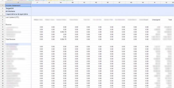 Excel Spreadsheet Templates Free