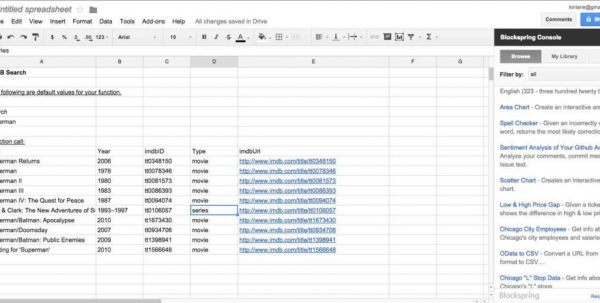 Excel Spreadsheet To Track Expenses