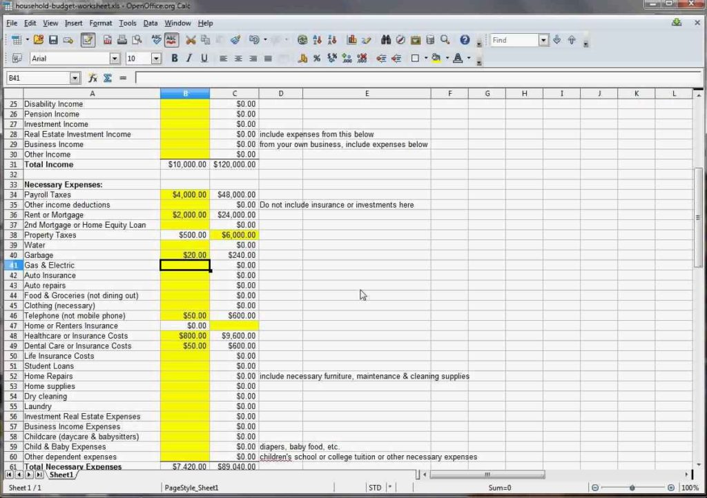 family budget spreadsheet budget spreadsheet spreadsheet templates for busines family budget. Black Bedroom Furniture Sets. Home Design Ideas