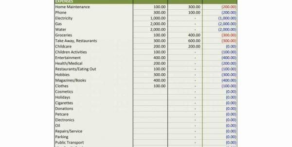 Financial Planning Retirement Worksheet