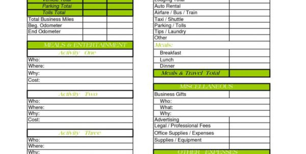 Food Cost Spreadsheet Template