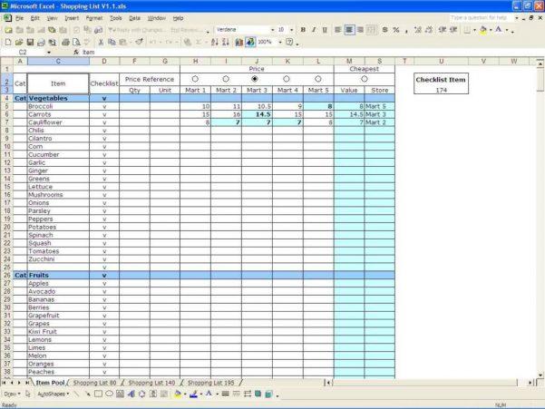 Free Blank Excel Spreadsheet Templates