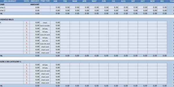 Free Personal Budget Spreadsheet Template Excel Household Spreadsheet Templates Household Spreadsheet, Spreadsheet Templates for Business