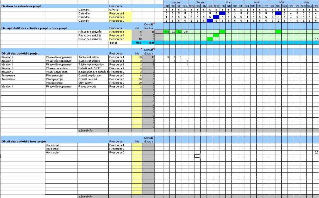 Google Docs Project Plan Template