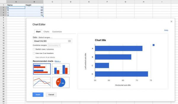 Google Docs Spreadsheet Api