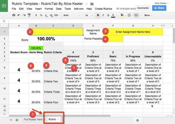 Google Docs Trifold Brochure Template