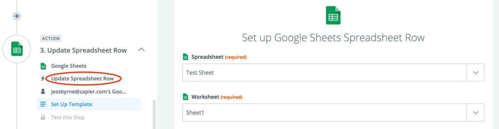 Google Spreadsheet Timeline