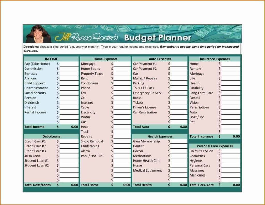 budget template personal templates franklinfire co