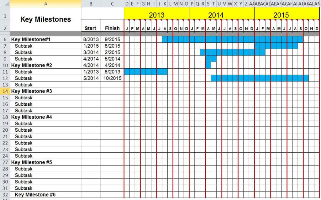 how to prepare a spreadsheet in excel