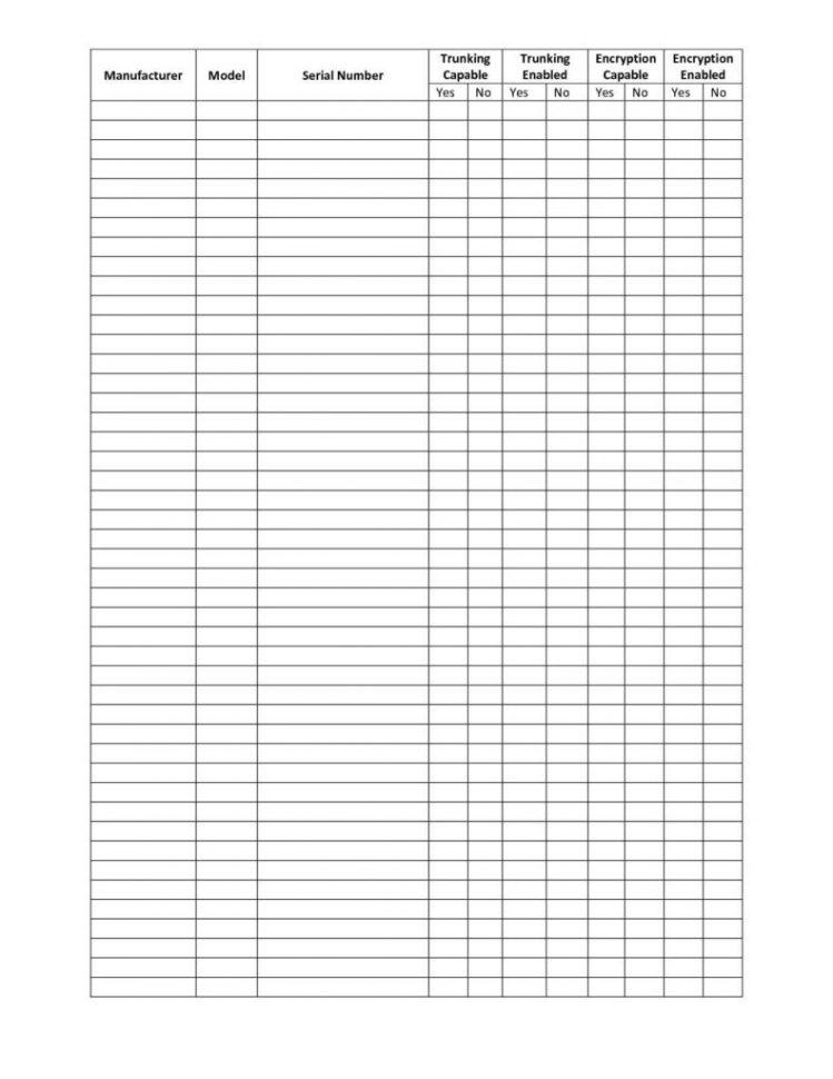 Liquor Inventory Spreadsheet Template