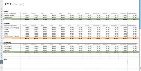 Microsoft Excel Accounting Spreadsheet Templates1