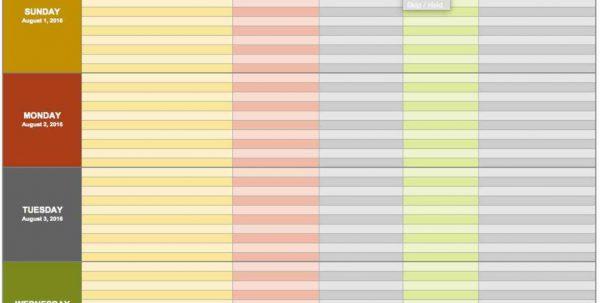 Microsoft Excel Spreadsheet Example