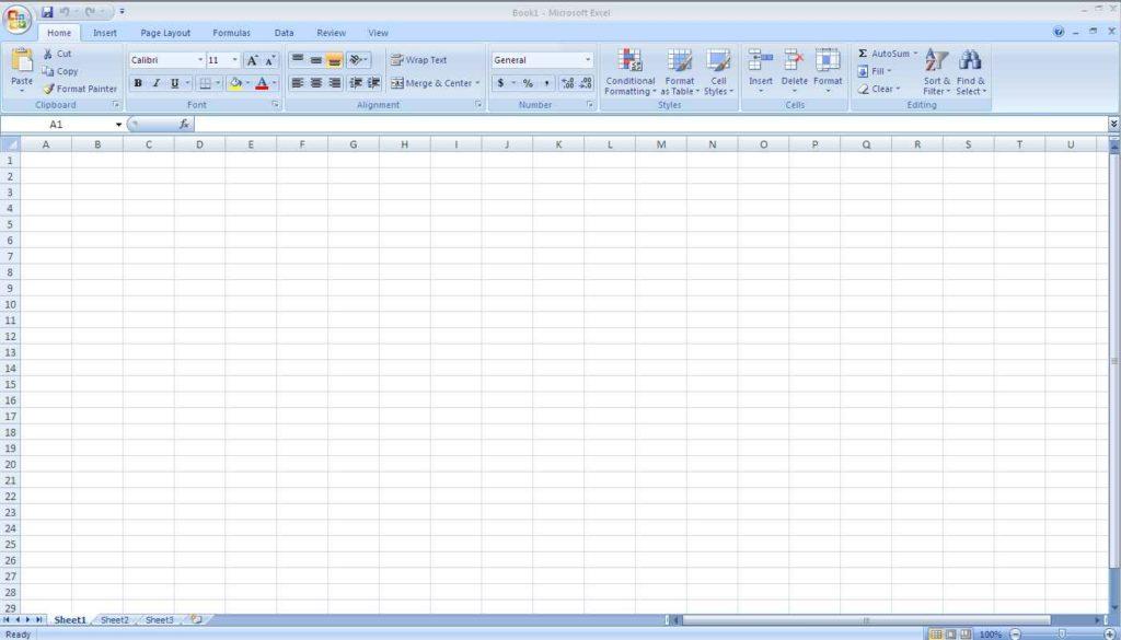 Microsoft Excel Spreadsheet Template