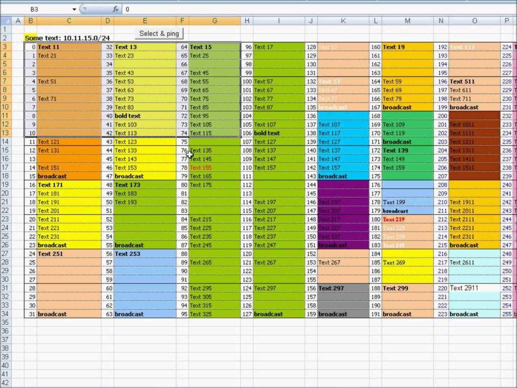 Microsoft Excel Spreadsheet Template | db-excel.com