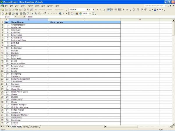 Microsoft Works Spreadsheet Templates