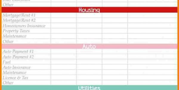Monthly Budget Templates Excel Monthly Budget Spreadsheet Budget Spreadsheet, Monthly Spreadsheet, Spreadsheet Templates for Business