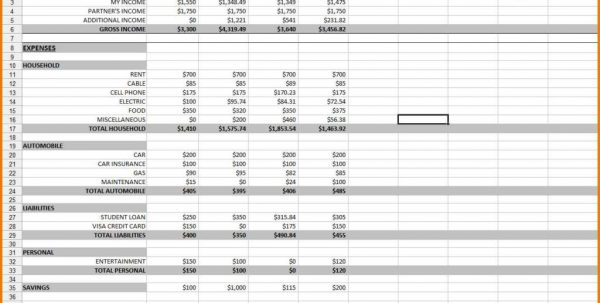 Monthly Expenses Spreadsheet Template Monthly Expense Spreadsheet Template Expense Spreadsheet, Spreadsheet Templates for Business, 2, Monthly Spreadsheet