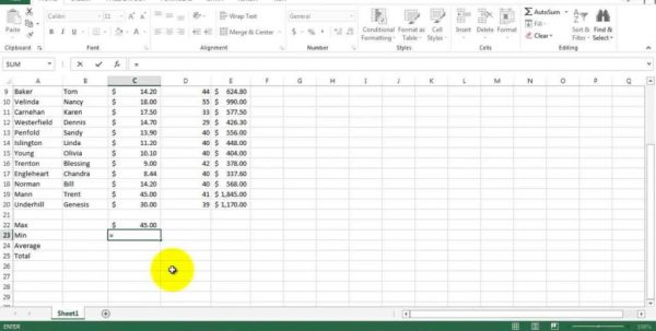 Payroll Spreadsheet Example