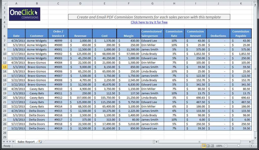 Payroll Spreadsheet In Excel