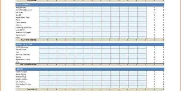 Personal Budget Planner Worksheet