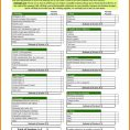 Personal Budget Spreadsheet Template Free