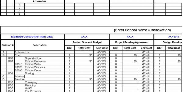 Product Costing Spreadsheet Template