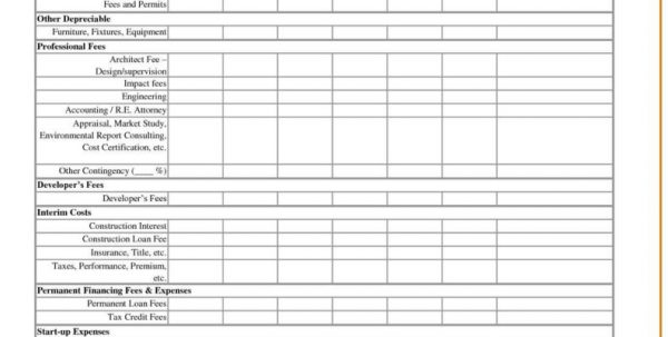 Profit And Loss Spreadsheet Templates Free