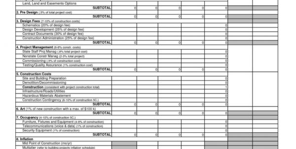 Project Management Spreadsheet Excel Template Free1