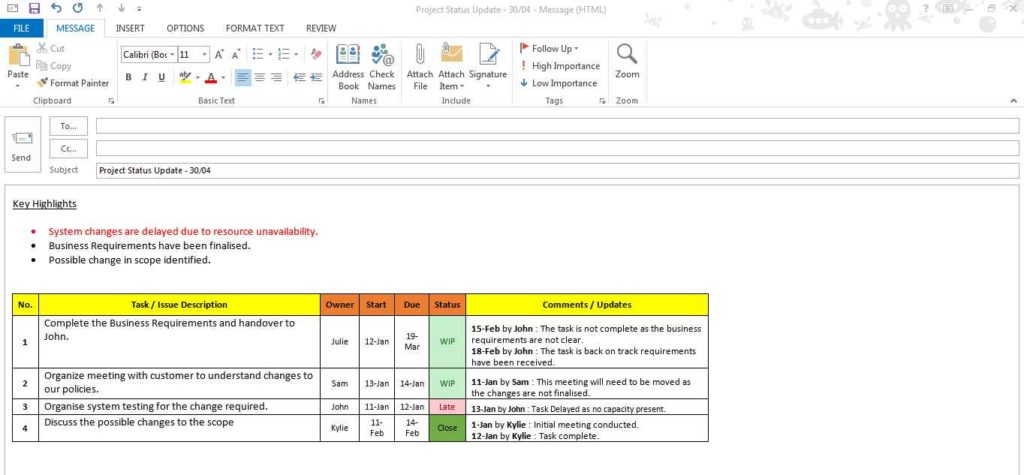 Project Management Spreadsheet Template Excel Task Tracking - Excel sheet template for task tracking