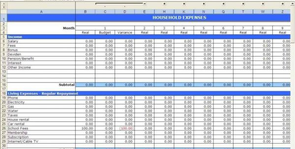 Project Tracking Sheet Excel Template