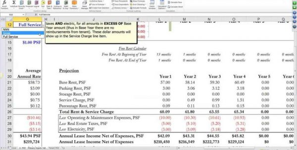 Real Estate Investment Analysis Excel Spreadsheet