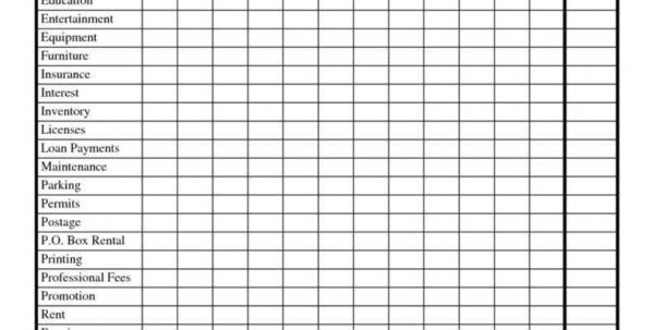 Sample Expense Spreadsheet Sample Expense Spreadsheet Spreadsheet Templates for Business, Expense Spreadsheet