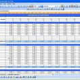 Sample Of Excel Spreadsheet Business Expenses