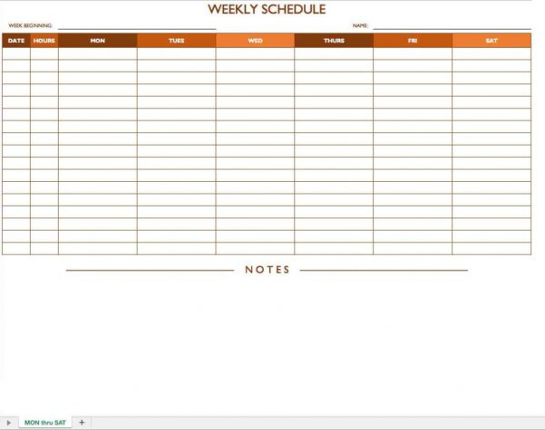 Schedule Format Template Schedule Spreadsheet Template Spreadsheet Templates for Business Schedule Spreadshee