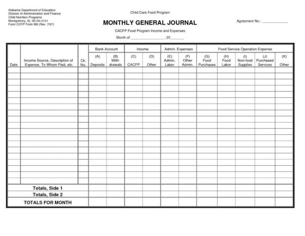 Small Business Accounting Templates Excel