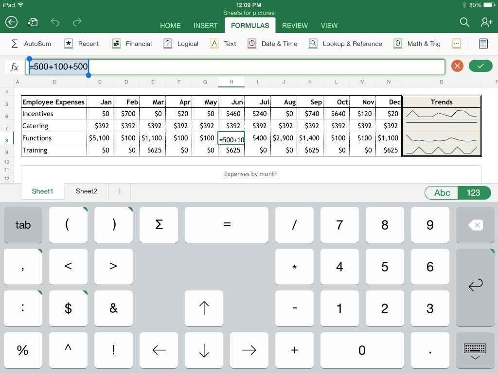 Spreadsheet App For Mac
