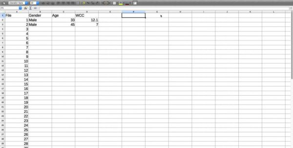 Spreadsheet Database Software