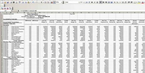 Spreadsheet For Small Business Expenses