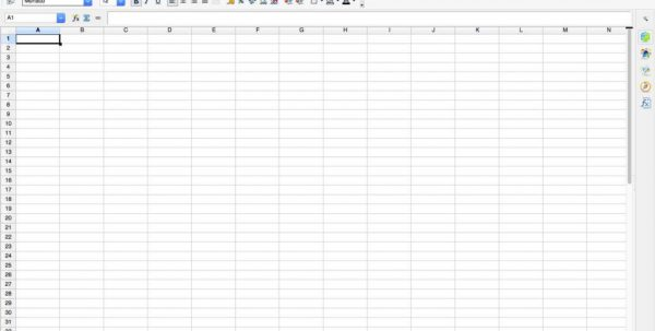 Spreadsheet Invoice Template