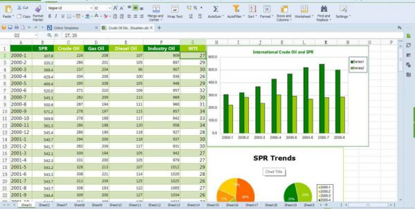 Spreadsheet Software Can Be Used To Spreadsheets Spreadsheet Templates for Business