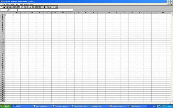 Spreadsheet Software Excel