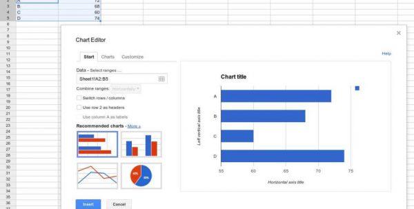 Spreadsheet Software Features