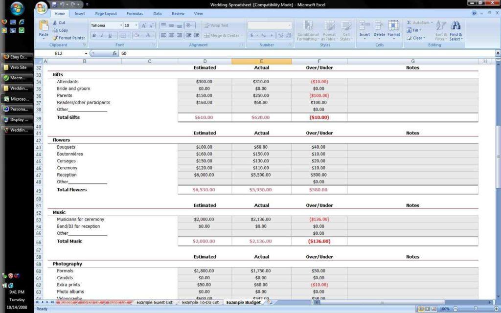 spreadsheet software spreadsheet templates for busines