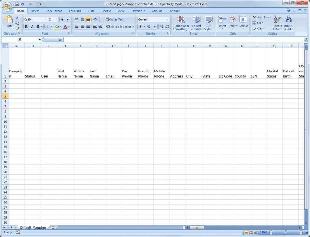 Spreadsheet Software Mac